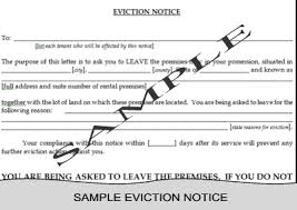 free printable 30 day eviction notice template resumess