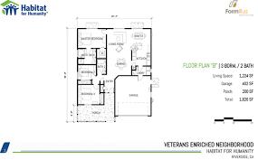 habitat homes floor plans habitat for heroes floor plan b habitat for humanity riverside