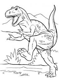 free rex coloring pages print 92377