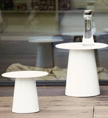 design beistelltische design beistelltisch garten alu weiß im greenbop shop kaufen