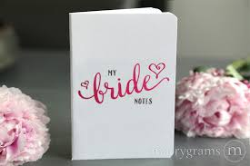 wedding planning notebook bridesmaid notebooks bridal party box notebook