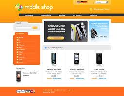 Category Designs Website Template 15805 Communications Online Shop Custom Website