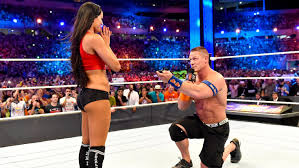 Wrestlemania Meme - psbattle john cena proposing to nikki bella at wrestlemania