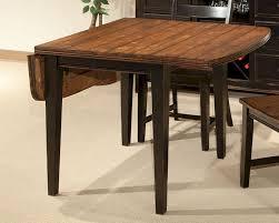 dark wood drop leaf table dining room double drop leaf dining table set distressed drop leaf