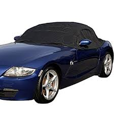 car cover for bmw z4 amazon com bmw z4 top roof protector half cover e85 and e89