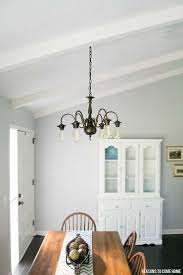Painting Brass Chandelier Best 25 Brass Chandelier Makeover Ideas On Pinterest Painted
