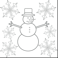 snowflake coloring pages for kindergarten gorilla color page free