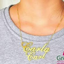Couple Name Necklace Images Tagged With Couplenamenecklace On Instagram