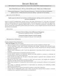 Sample Resume It by Sample Help Desk Manager Resume