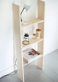 diy ladder shelf the merrythought