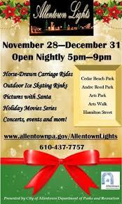 Allentown Lights In The Parkway Allentown Lights Set To Sparkle U003e Allentownpa Gov