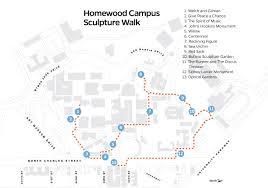 Sidney Ohio Map by Take A Homewood Campus Sculpture Walk Hub