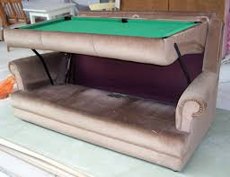 6 foot sofa ebay watch prototype couch transforms into 6 foot pool table