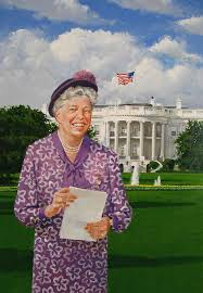 Art A Tribute To Eleanor Roosevelt Eleanor Roosevelt Coloring Pages