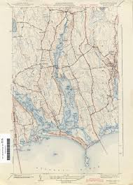 Mass Map Rhode Island Historical Topographic Maps Perry Castañeda Map