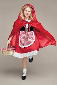 Catching Fireflies Halloween Costume Red Riding Hood Costume Girls Chasing Fireflies