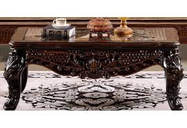 Victorian Coffee Table by Hd 386 Homey Design Upholstery Living Room Set Victorian European