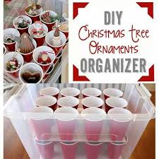 Christmas Ornament Storage Solutions by Best 20 Diy Christmas Ornament Storage Ideas On Pinterest