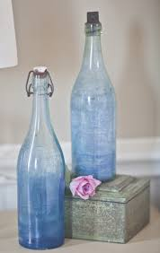 i m the guest blogger at ballard designs today cedar hill farmhouse b blue bottles