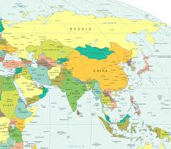 Asia Rivers Map by Asia Map Quiz