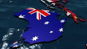 Australia Flags 3d Australia Flag Map No Clouds Motion Background Videoblocks