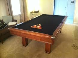 brunswick 7ft pool table value of a brunswick hawthorn pool table in charlotte nc