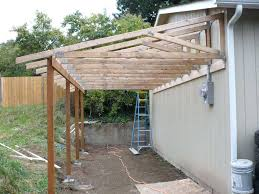Simple Patio Cover Designs Patio Ideas Patio Of The Garage Pictures Trusses From The