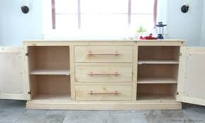 kitchen sideboard cabinet large white buffet cabinet painted oak furniture cream extra large