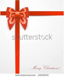 christmas present bows christmas present ribbon bow stock vector 226256791