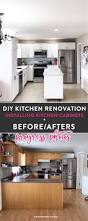 diy kitchen furniture i survived my diy kitchen renovation before u0026 afters the
