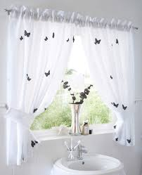 Betty Boop Bathroom Accessories Uk by Butterflies Lined Voile Curtain Set Home Beauty U0026 Gift Shop