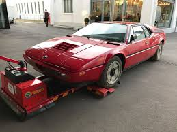 bmw supercar bmw m1 supercar barn find emerges after 34 years in storage the