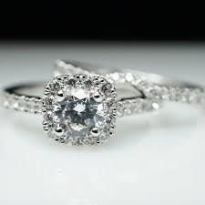 custom wedding ring cushion halo diamond engagement ring wedding band custom bridal