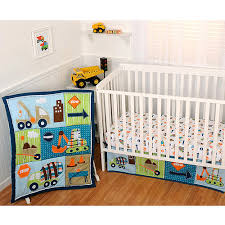 Construction Crib Bedding Set Sumersault Dig It 4pc Crib Bedding Collection Value Bundle