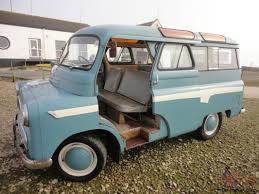 Retro Camper 1960 Bedford Utilabrake 10 Seater Bus Original Rat Rod Surf Retro