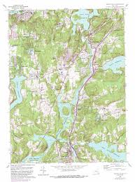 Pawling New York Map by Croton Falls Topographic Map Ny Usgs Topo Quad 41073c6