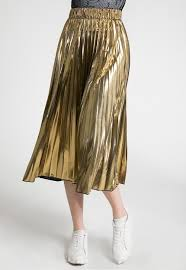 pleated skirts metallic foil pleated skirt sans souci stores