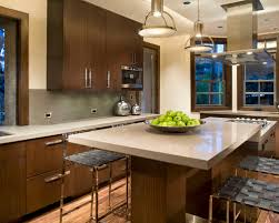 two level kitchen island home design