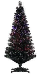 artificial christmas trees multi colored lights artificial christmas trees multi colored lights jet black 3 black