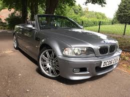 2006 bmw m3 e46 facelift manual convertible px swap in luton