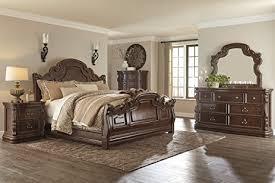 Sleigh Bed Set B715 Florentown Bedroom Set 6 Pc King Sleigh
