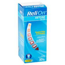 relion ketone test strips 50 count walmart com