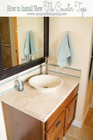 How To Install Kitchen Countertops by How To Install Kitchen Countertop 1 Large Framed Bathroom