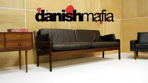 Vintage Mid Century Sofa Buat Testing Doang Danish Leather Sofa