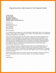 civil engineering internship cover letter choice image cover