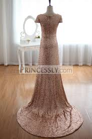 sequined wedding dress chage gold sequins wedding dress prom dress evening gown with