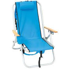 Rio Sand Chair Rio Aluminum Hi Back Backpack Chair Sky Blue Wearever Chair