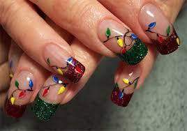 christmas light nail art designs u0026 ideas 2013 2014 x mas nails