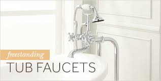 Bathtub Faucet Height Standard Clawfoot Tub Water Supply Lines Signature Hardware