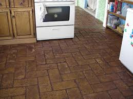 cheap and easy brick floors 7 steps